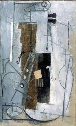 Описание картины Пабло Пикассо «Скрипка»