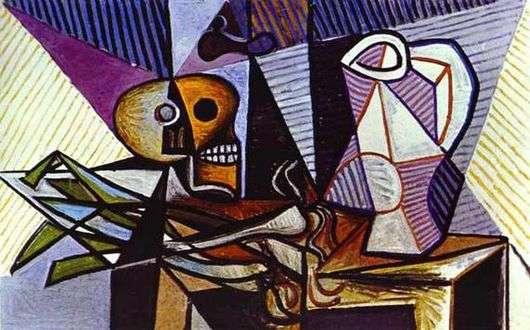 Описание картины Пабло Пикассо «Натюрморт»