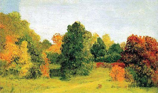 Описание картины Архипа Куинджи «Осень»