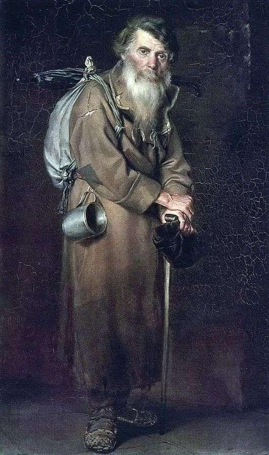 Описание картины Василия Перова «Странник»