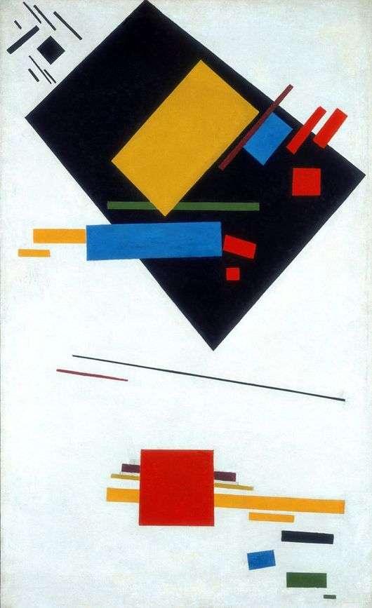 Описание картины Казимира Малевича «Супрематизм»