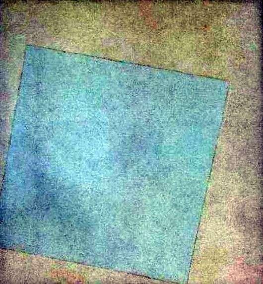 Описание картины Казимира Малевича «Белое на белом» (Белый квадрат)